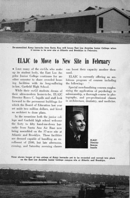 """ELAJC to Move to New Site in February,"" Los Angeles School Journal, September 22, 1947. Courtesy of the Seaver Center."